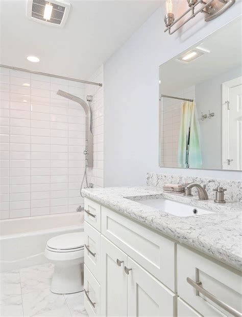 large subway tile bathroom elegant love gray subway tile with white grout but the room could