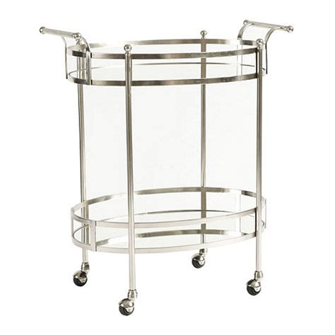 Ballard Designs Headboards arteriors wade vintage silver glass bar cart look 4 less