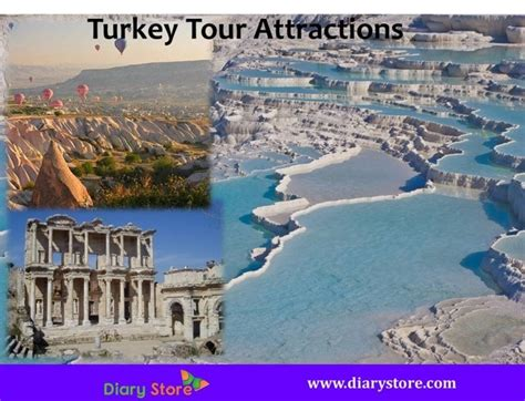 turkey tourism turkey  attractions  places diary