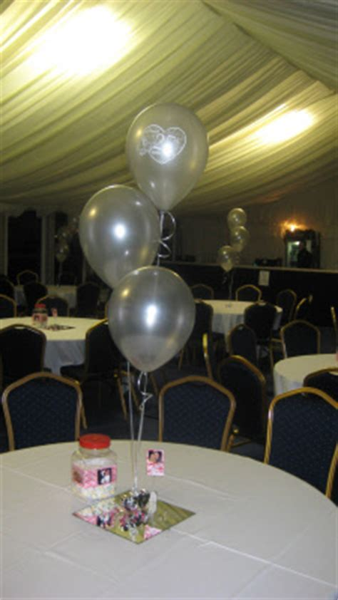 Anniversary Balloon Decorations & Partyware
