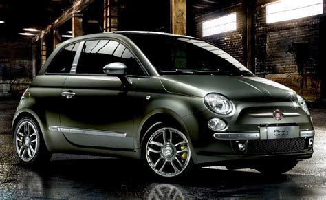 fiat 500 special edition diesel carscoops