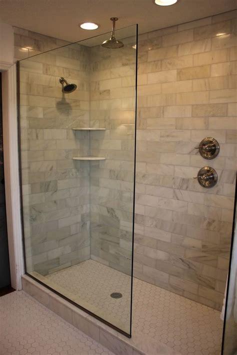 design   doorless walk  shower tinted glass
