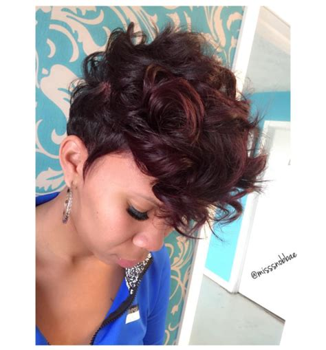 back short hair shots cute pixie via misssnob bae black hair information
