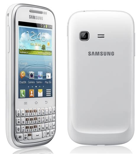 Samsung Qwerty Samsung Galaxy Chat Qwerty Android Phone Itech News Net