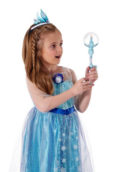 elsa s disney frozen elsa s musical snow wand toys games
