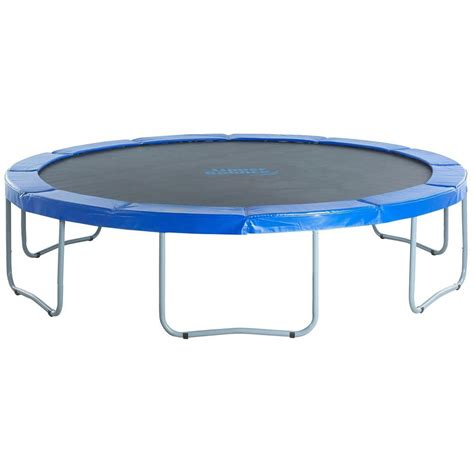 Home Decor Hardware by Upper Bounce 12 Ft Round Trampoline With Blue Safety Pad