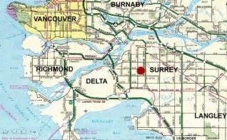 surrey bc map security guards companies