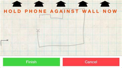 easy floor plan app roomscan floor plan measuring app for apple ios iphone