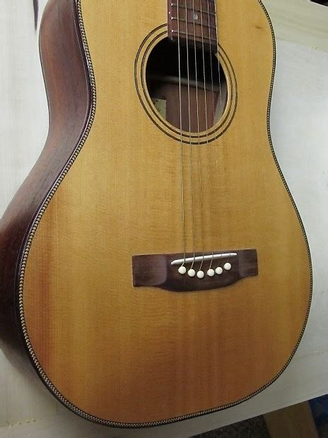 Martin Style 6 Bridge For Steel String Acoustic Guitar acoustic guitar bridge east indian rosewood martin style reverb
