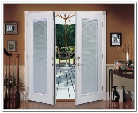 Exterior Door With Built In Blinds Exterior Doors With Built In Blinds