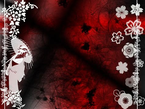 Random Japanese Wallpaper By Ilmaryl On Deviantart Japanese Style Powerpoint Template