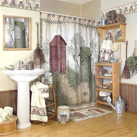 outhouse bathroom sets fun outhouse themed bathroom decor xpressionportal