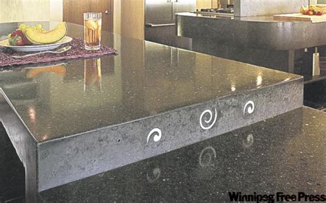 Concrete Countertops Winnipeg by The Concrete Winnipeg Free Press Homes
