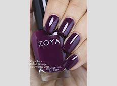 Zoya Tara - Grape Fizz Nails | Urban Grunge - Fall 2016 ... Zoya Tara