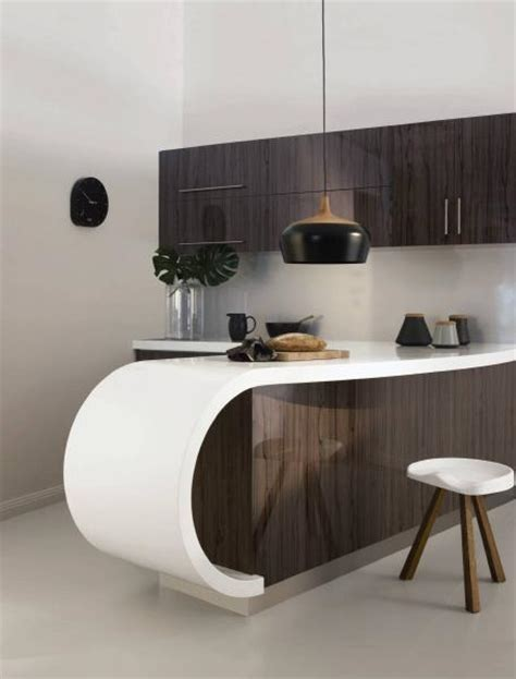 Kitchen Design Canberra by Laminex Freestyle Curve Snow Storm Photo Laminex