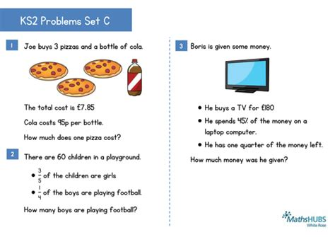 ks2 reasoning and problem solving questions 4th may by