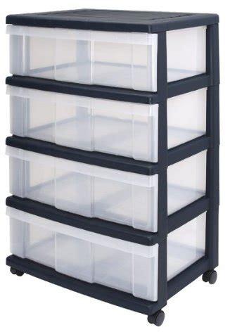 Storage Drawers Uk by Iris Wide Drawers Storage Drawers With 4 Drawers Plastic