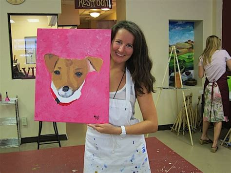 painting with a twist paint your pet paint your pet