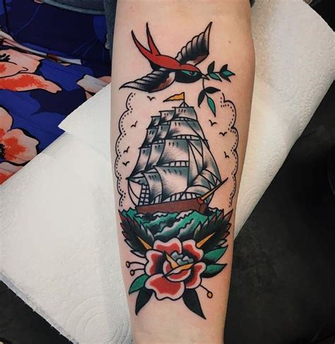 traditional ship tattoo 25 best ideas about traditional ship on