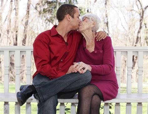 ohmbre for older women cougar hunter kyle jones dates 91 year old marjorie mccool
