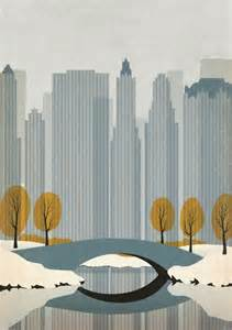 Commercial Building Plans Illustration Gratuite New York Dessin Affiche Ville