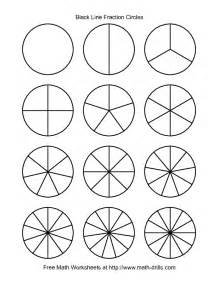 Circle Table Fraction Circles Clipart 60