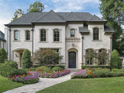 Formal Draperies French Chateau Offers Luxury In University Park