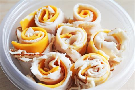 easy snacks easy to make snacks turkey and cheese rolls recipe