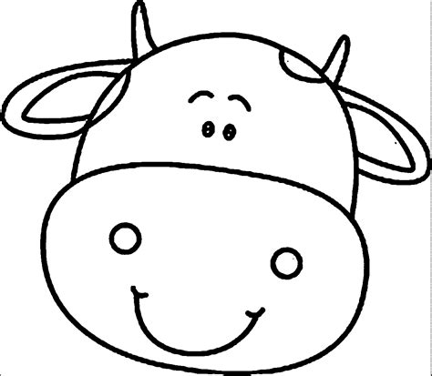 coloring pages cow face cow face coloring page free coloring pages on art
