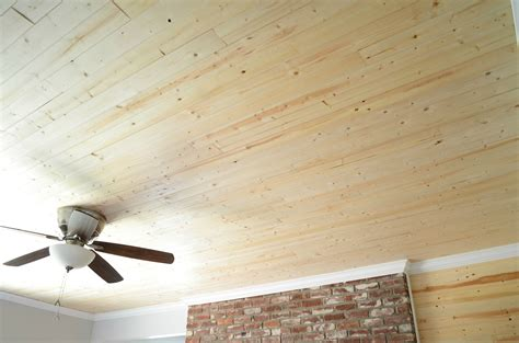 Ceiling Plank by Wood Ceiling Planks Design Homesfeed