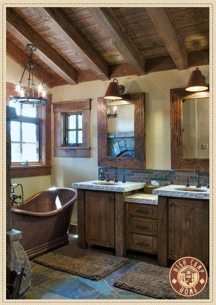 rustic bathroom ideas pinterest rustic bathroom home decor ideas pinterest
