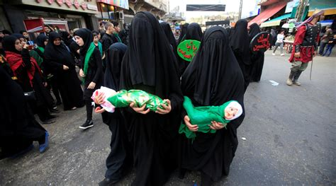 shia muslims mark religious festival of ashura with