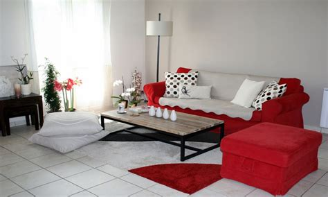 home decorating furniture red and grey living room ideas modern house