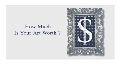 how much is your art worth