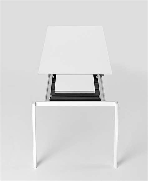 thin table l mesa thin k de luciano bertoncini para kristalia