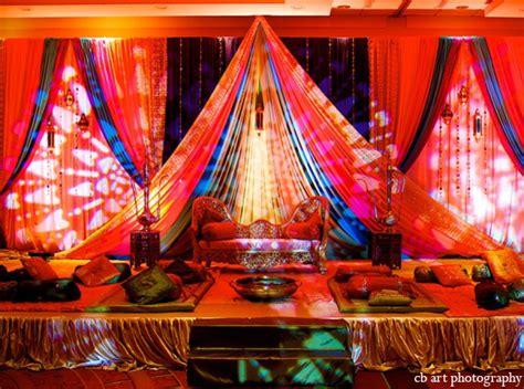 decoration india indian wedding lighting decor reception maharani weddings