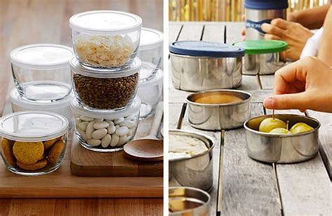 plastic  containers steel  glass kitchn