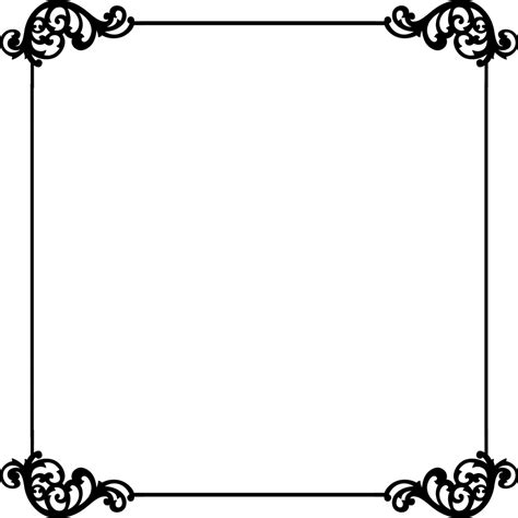 flower border template clipart best