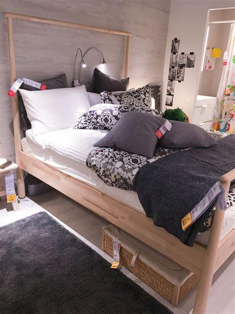 ikea gjora bed gjora birch bed 459 romskog rattan bed storage box 69