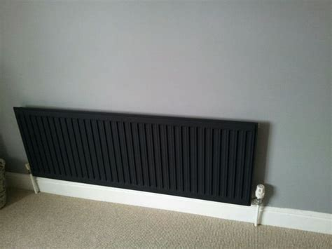painted black radiator dead flat grey walls  images
