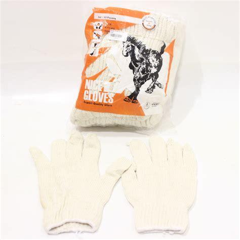 Sarung Tangan Karet Putih sarung tangan b 7 putih kuda 12pcs jawatimuronline