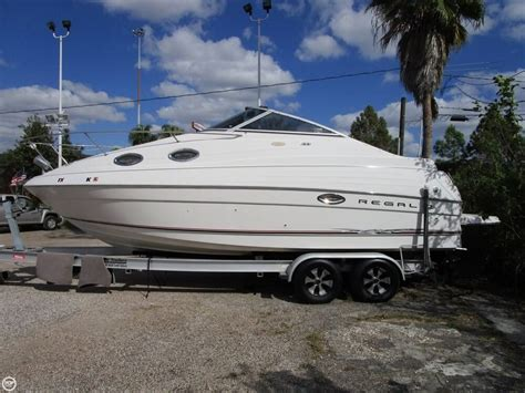 regal boats used used regal 2465 commodore boats for sale boats