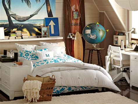 inspired bedrooms teen beach bedroom ideas  girls room