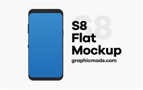 Samsung S8 Flat 50 best samsung galaxy s8 mockup templates 187 css author
