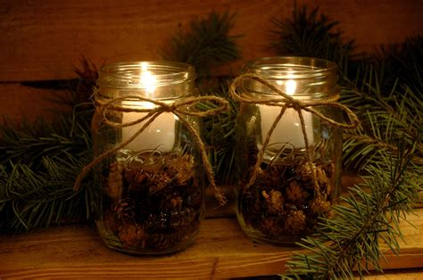 decorating ideas casual picture of glass jar candle