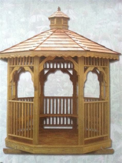 wooden octagon gazebos shedsnashvillecom