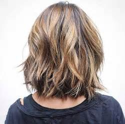 mid length hair cuts longer in front 15 nice layered wavy bob short hairstyles 2016 2017