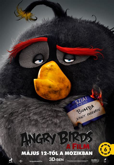angry birds movie poster 18 of 27 imp awards angry birds 9 of 27 extra large movie poster image
