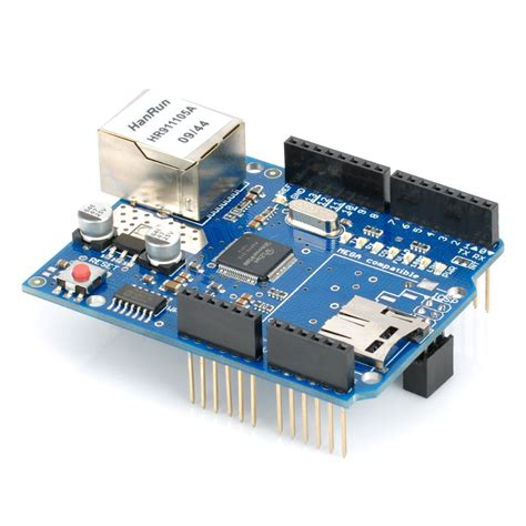 Ethernet Shield W5100 For Network Arduino ethernet shield w5100 for arduino board uno mega2560 r3 chiosz robots