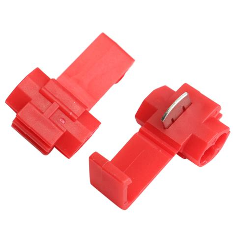 L Cord Splice Connector by 50pcs Lock Wire Electrical Cable Connector Splice Terminals Crimp For Car Alex Nld